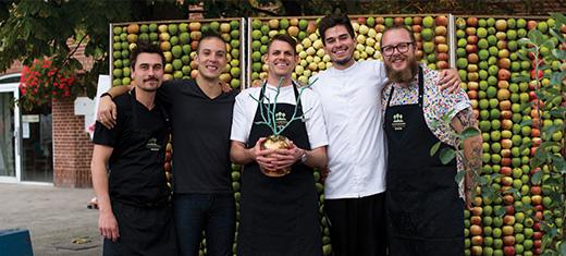 Marc Foged vinder årets kokkedyst på Sydhavsøernes Frugtfestival
