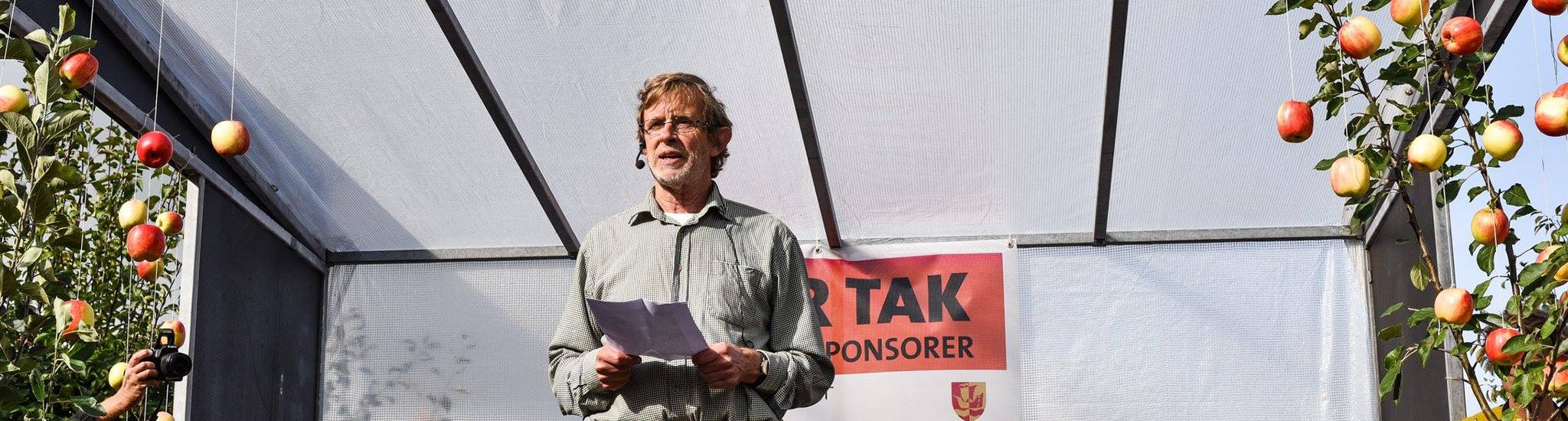 Søren Ryge's åbningstale ved årets frugtfestival